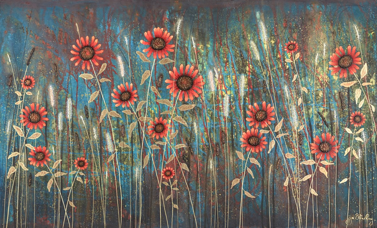 Sun Seekers by jo starkey -  sized 39x24 inches. Available from Whitewall Galleries